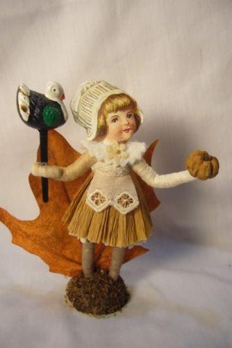 Vintage Inspired Spun Cotton Pilgrim Gril no. 289A