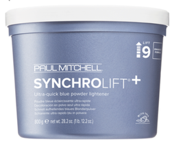 Paul Mitchell Syncrolift Ultra-Quick Blue Powder Lightener 9, 28.2oz