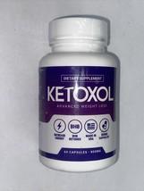 Ketoxol Advanced Weight Loss BHB Ketones Dietary Supplement - 60 Capsules - $17.99