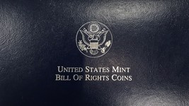1993 United States Mint Bill of Rights Coins James Madison  - $39.19