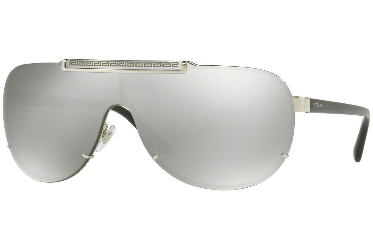 Versace Men's Pilot Sunglasses VE2140 Lens Authentic 40mm