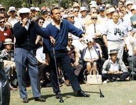 Arnold Palmer Ben Hogan Vintage 16X20 Color Golf Memorabilia Photo - $30.95