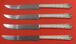 Processional by International Sterling Silver Steak Knife Set Texas Sized Custom - $247.10