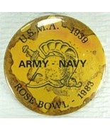 ROSE BOWL 1983 Army NAVY Pinback Button U.S.M.A 1939 Gladiator Helmet Fo... - $38.32