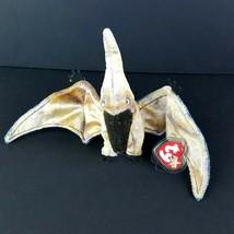 Ty Beanie Baby Swoop the Pterodactyl Bean Bag 2000 Flying Bird Prehistoric  - $12.87