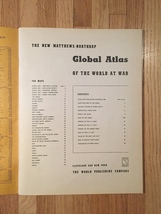 1943 Global Atlas of the World at War image 5