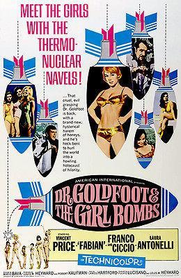 Primary image for Dr. Goldfoot & The Girl Bombs - 1966 - Movie Poster