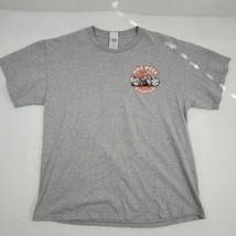 Sturgis Bike Week 2005 65th Anniversay Gray  Mens T-Shirt Size L - $11.97