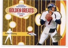 2005 Topps Golden Greats JOHN ELWAY  insert    [NrMt-Mint] - $1.00