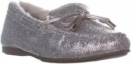 MICHAEL Michael Kors Sutton Moc Bow Moccasins Shoes Champagne - $63.99