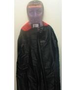 Adult Vampire Reversible Nylon Cape Halloween Costume, NEW UNUSED - $6.89