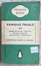 Famous Trials III - Penguin Books (Paperback 1950)  Edited by James Hodge - $6.75