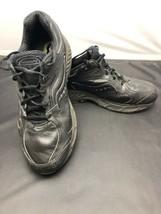 Saucony Women's Echelon LE Black Leather Walking/ Running Shoe Sz 11 Wid... - $29.65