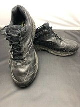 Saucony Women's Echelon LE Black Leather Walking/ Running Shoe Sz 11 Wide EUC - $29.65