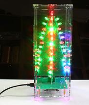 Christmas Tree LED Flowing Light Flash Music Box Electronic DIY Kit  - $38.00