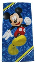 Disney Mickey Mouse Clubhouse Road Racers Fiber Reactive Beach Towel - H... - $11.47