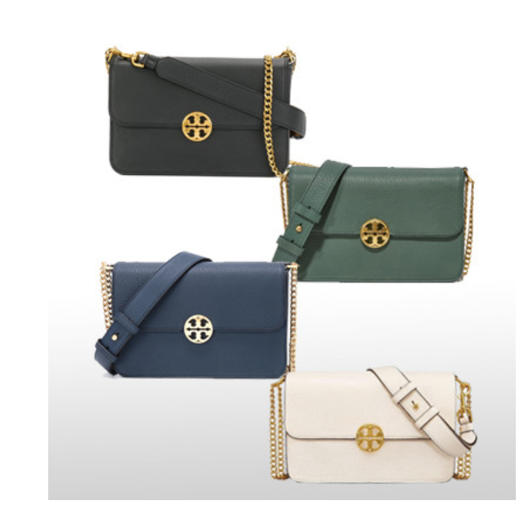 TORY BURCH Chelsea Convertible Shoulder Bag with Free Gift Free Shipping image 2