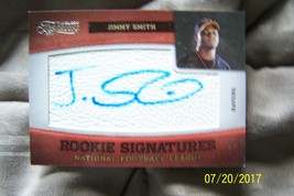 2011 Panini Timeless Treasures Jimmy Smith Autographed Rookie Card - $15.00