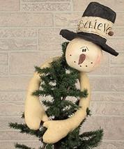 Believe Snowman Tree Topper - $41.61