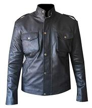 Breaking Bad S4 Aaron Paul (Jesse Pinkman) Black Biker Leather Jacket - $147.00