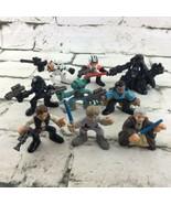 Playskool Star Wars Figures Large Lot 2006 Darth Vader Hans Solo Lightsaber - $29.69