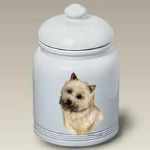 Cairn Terrier Wheaten Treat Jar - $44.95
