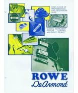 ORIGINAL Vintage 1970s Rowe Dearmond Instrument Effect Pedals Catalog - $27.86