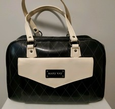 Large Black MARY KAY Consultant Bag with Mirrors & Disposable Make-Up Trays - $23.38
