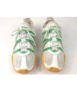 REEBOK RB 512 RII 32-143977 Lace Up Sneakers White Green Women's Size 7 - $15.00