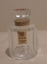 VINTAGE LE GALLION SNOB EMPTY PERFUME BOTTLE WI... - $49.00