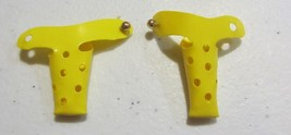 VINTAGE SKIPPER SUNNY SUITY  YELLOW SANDAL  SHOES - NICE - $57.00