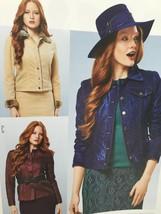 Burda Sewing Pattern 7018 Misses Ladies Jacket Size 6-18 New - $15.09