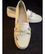 WOMEN'S LEATHER SLIP ON LOAFERS Mootsies Tootsies MOMALLORY Size 6 1/2  ... - $18.80