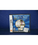 Brain Age 2 for Nintendo DS - Complete in case w/manual - VG+ See PIx - $6.13