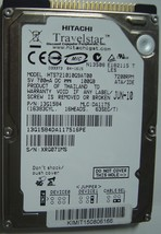 "New HTS721010G9AT00 7200RPM Hitachi 100GB IDE 2.5"" hard drive Free USA Ship - $49.95"