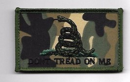"DON""T TREAD ON ME OD CAMO 2 X 3  EMBROIDERED PATCH HOOK LOOP - $15.33"