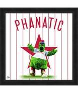 "Philly Phanatic Philadelphia Phillies Mascot 20"" x 20"" Uniframe - $69.95"
