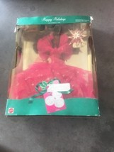Happy Holidays Special Edition 1990 Barbie Doll Box Ruined &Missing Top&... - $19.65