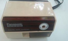 PANASONIC AUTO STOP ELECTRIC PENCIL SHARPENER MODEL KP-110 100W MADE IN ... - $19.99