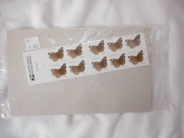 Common Buckeye Butterfly Booklet Pane of 20 U S Stamps Original Package - $4.01