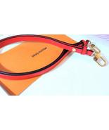 Louis Vuitton Neo Noe Stitch Shoulder Strap Coquelicot Red Authentic Bra... - $420.75