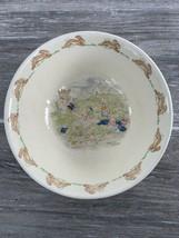 Vintage Bunnykins Royal Doulton Childs Bowl Marked 1936 English Fine Bone China - $9.95