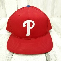 Red Philadelphia Phillies Snapback Hat MLB Official Merchandise  - $14.54