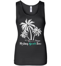 Resting Beach Face Tank Top - $21.99+