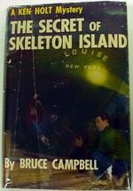 Ken Holt Mystery #1 The Secret of Skeleton Island like Hardy Boys hcdj C... - $5.00