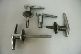Ford Model A 1930 1931 Car Door Handles Lot of 4 Chrome Automobile Vintage - $57.87