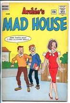 Archie's Mad House #33 1964-PAPER Doll Cover SABRINA-CAPTAIN SPROCKET-vg - $56.75