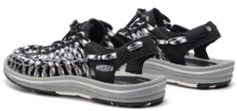 Keen Uneek Flat Cord Size US 7 M (B) EU 37.5 Women's Sport Sandals Shoes Black image 4