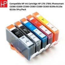 COMPATIBLE HP INK CARTRIDGE HP 178 178XL PHOTOSMART C6380 C6300 C5300 C5... - $26.63