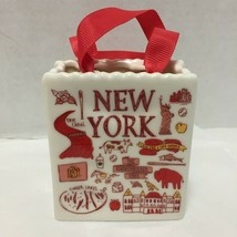 Starbucks Ornament New York Been There Tote Bag 2019 Ceramic Bonus Gift ... - $32.71